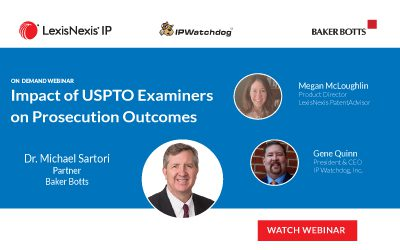 impact of uspto examiners on prosecution outcomes